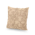 Breya Modern Cotton Throw Pillow