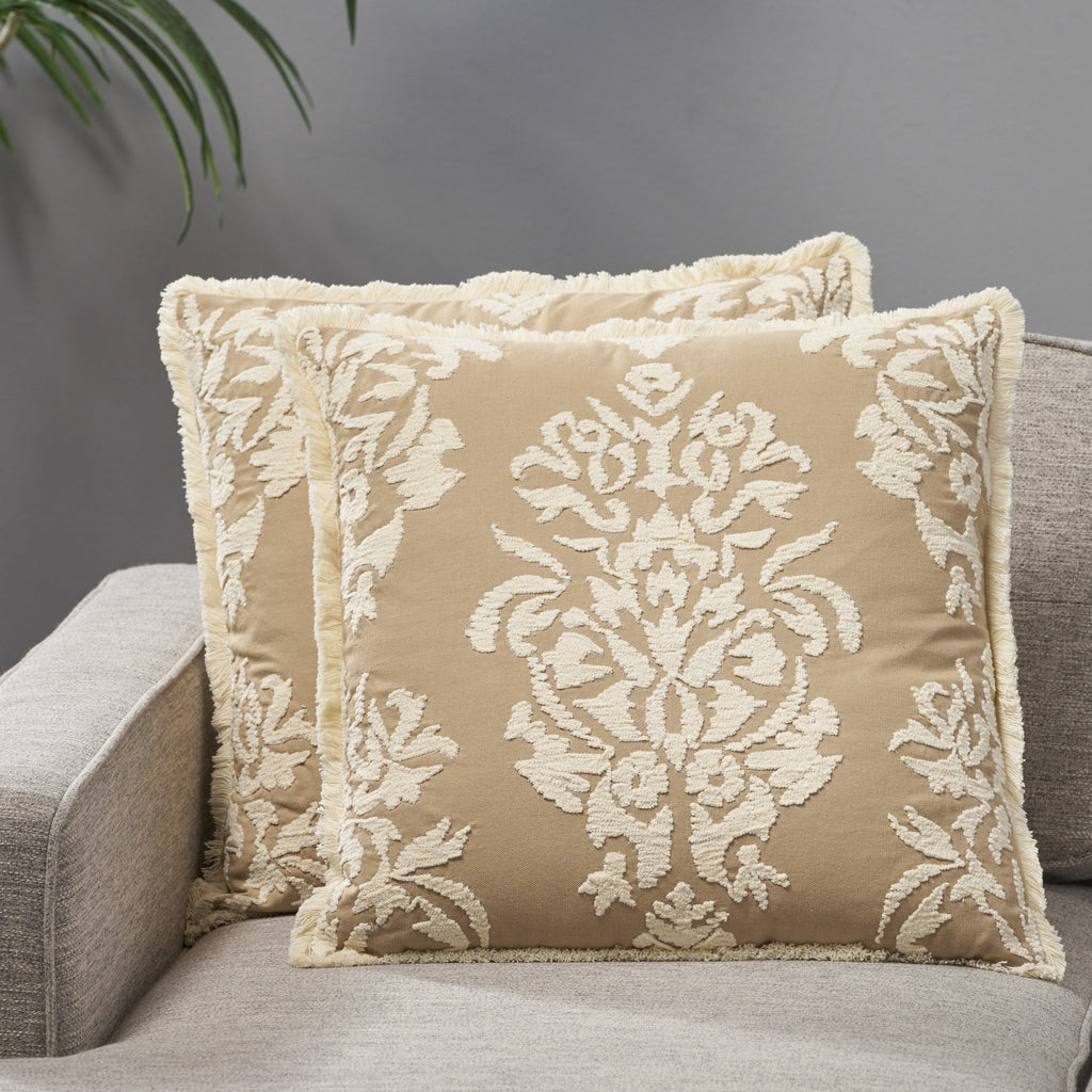 Sathvik Cotton Pillow Cover (Set of 2)