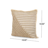 Alyn Boho Cotton Throw Pillow