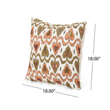 Maurice Boho Cotton Pillow Cover