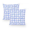 Nehemie Modern Fabric Throw Pillow (Set of 2)