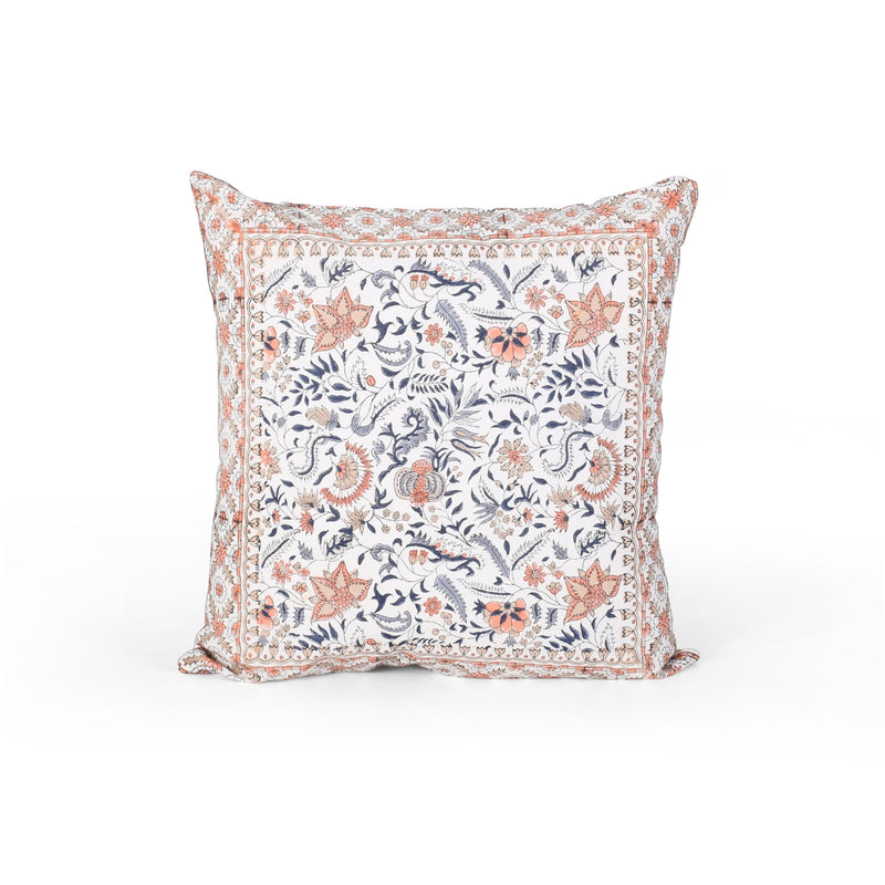 Aalasia Modern Fabric Throw Pillow Cover (Set of 2)
