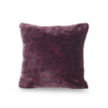 Estelle Modern Throw Pillow Cover, Purple and Black