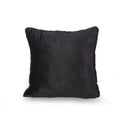 Jasmine Modern Throw Pillow, Purple and Black