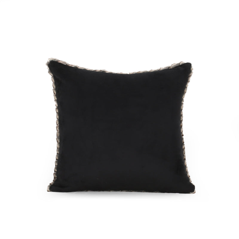 Germani Modern Faux Fur Pillow Cover (Set of 2)