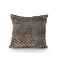 Germani Modern Faux Fur Throw Pillow (Set of 2)
