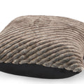 Germani Modern Faux Fur Throw Pillow