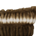 Ann Modern Throw Pillow, Light Brown