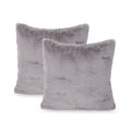 Anita Modern Throw Pillow (Set of 2), Gray