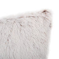 Ariel Modern Throw Pillow Cover, White
