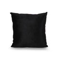 Becky Modern Throw Pillow Cover, Multicolor and Black