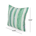 Emra Modern Outdoor Throw Pillow