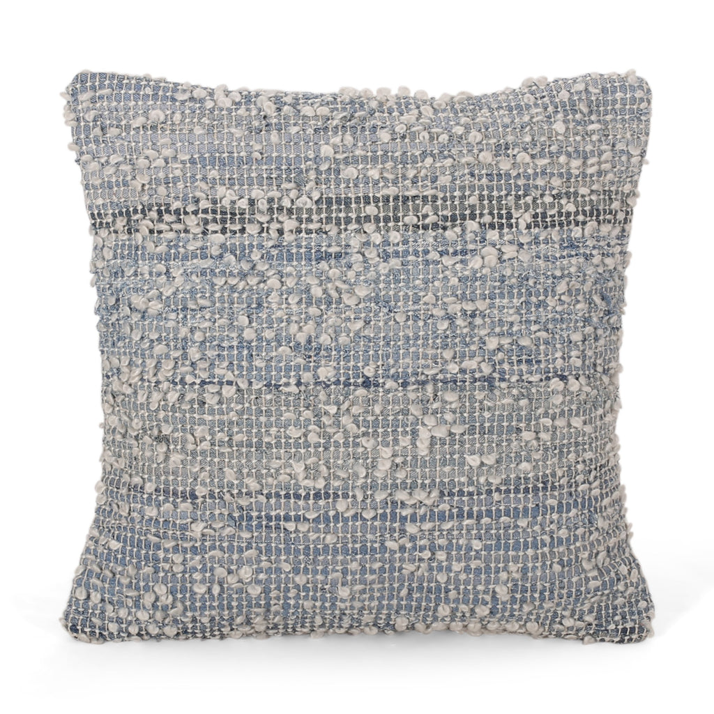 Prabhjot Hand-Woven Throw Pillow