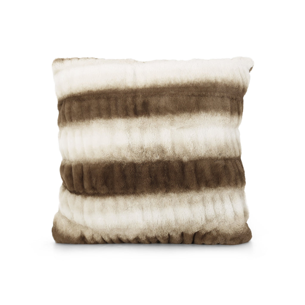 Ellamay Modern Faux Fur Pillow Cover