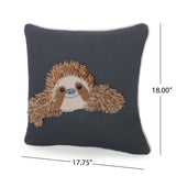 Kallyn Sloth Pillow Cover