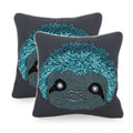 Nishtha Sloth Throw Pillow