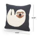 Lumiere Sloth Pillow Cover