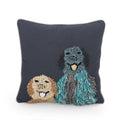 Musfirah Dog Throw Pillow