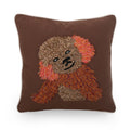 Malery Dog Throw Pillow