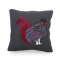 Daziyah Rooster Throw Pillow