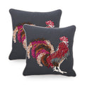 Maiya Rooster Throw Pillow