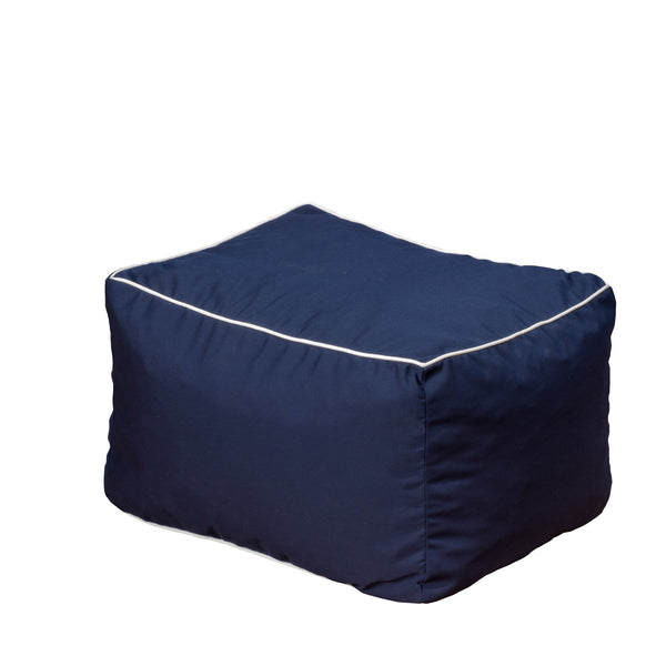 Sunbrella Peyton Outdoor  Bean Bag - Le Pouf