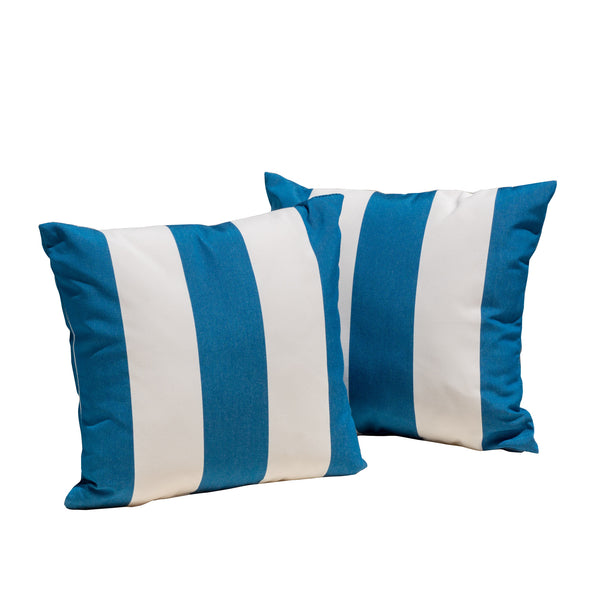 Sunbrella Cabana Regana Throw Pillow - Le Pouf