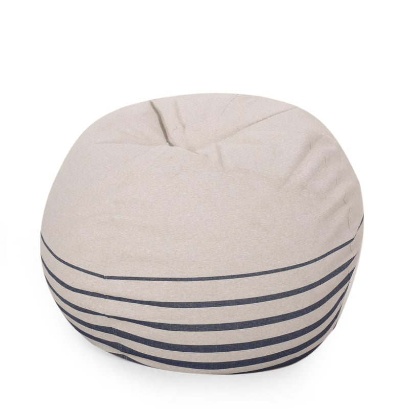 Sasser Hudgeons Boho Striped Bean Bag