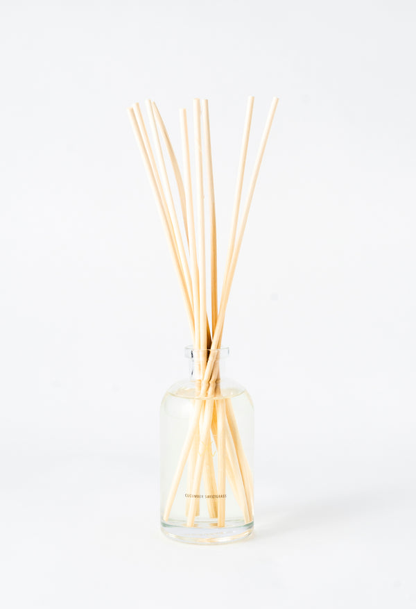 Cucumber Sweetgrass Reed Diffuser