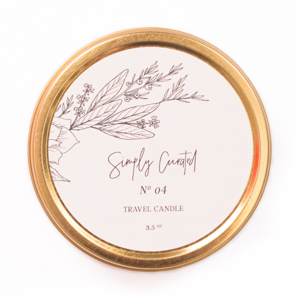 Travel Candle - Botanical Collection No. 04