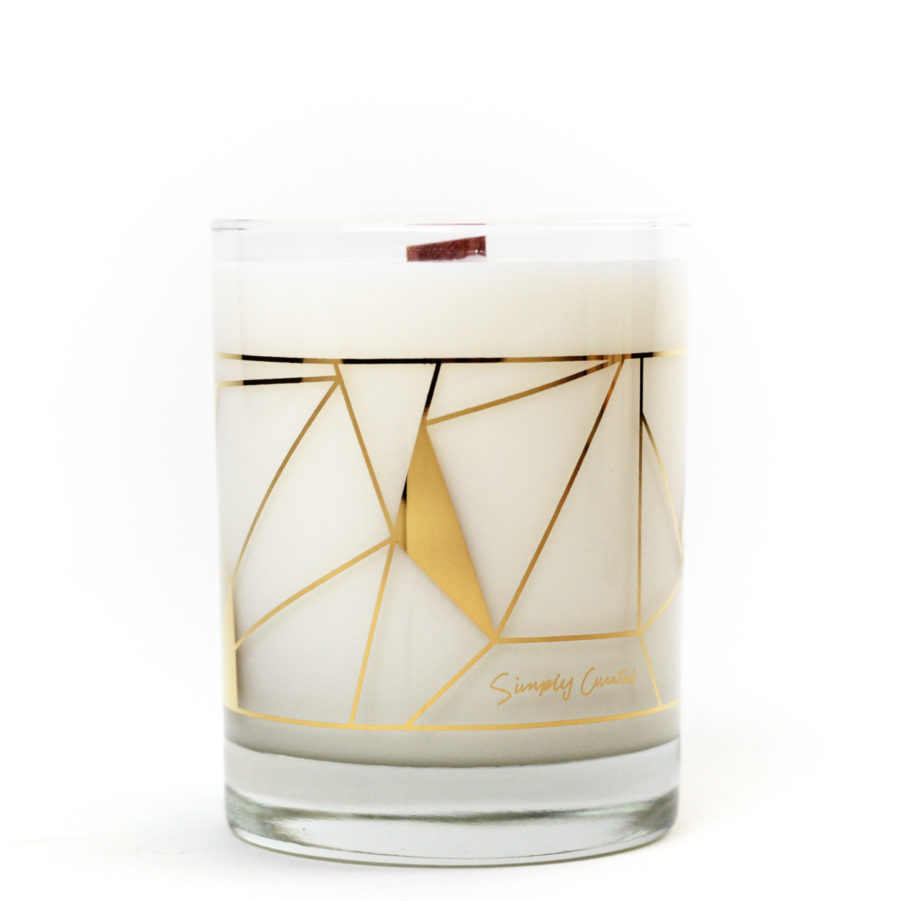 Oakmoss and leather soy candle