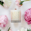 Peony + Salt 22k Gold Soy Candle
