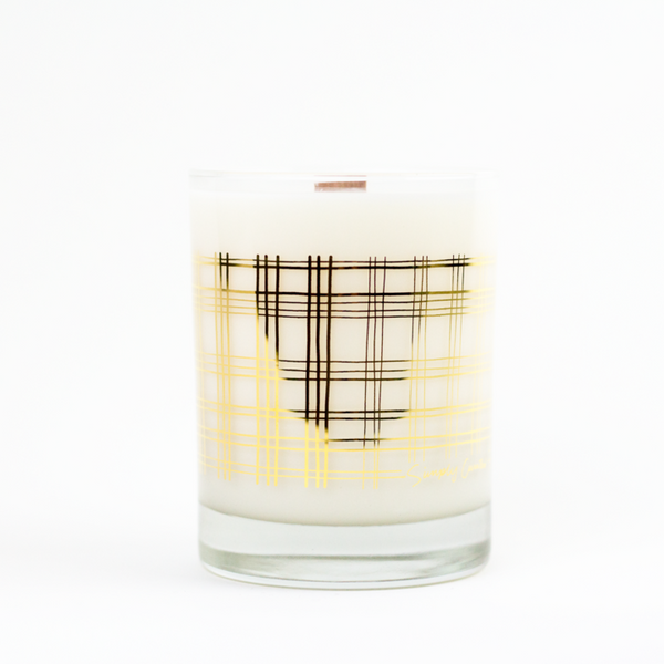 Smoke + Embers 22k Gold Soy Candle