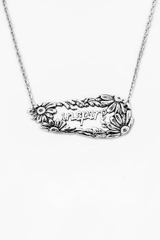 Daisy Inspire Inspirational Necklace