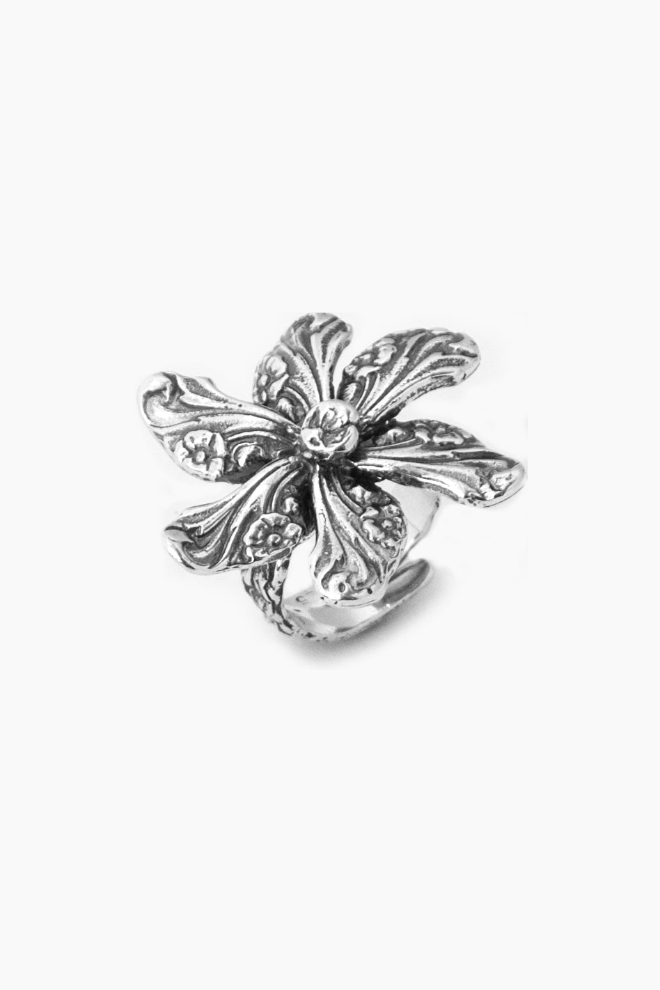 Georgia Sterling Silver Ring - Silver Spoon Jewelry