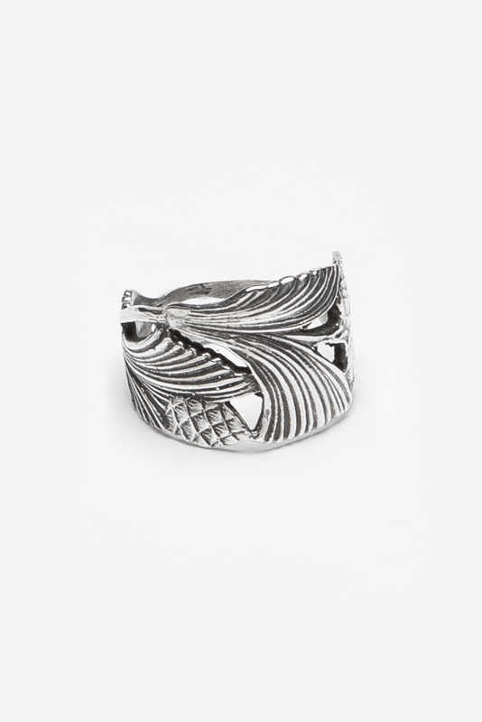 Edith Ring - Silver Spoon Jewelry