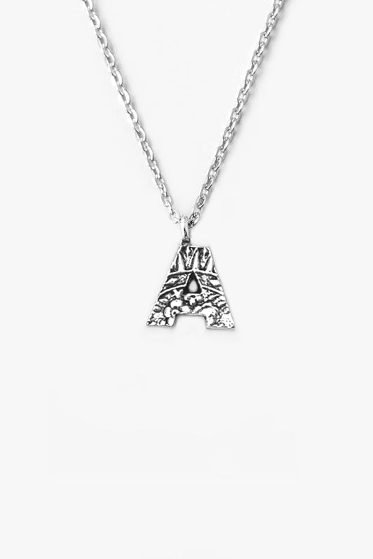 Initial Spoon Necklaces - Silver Spoon Jewelry