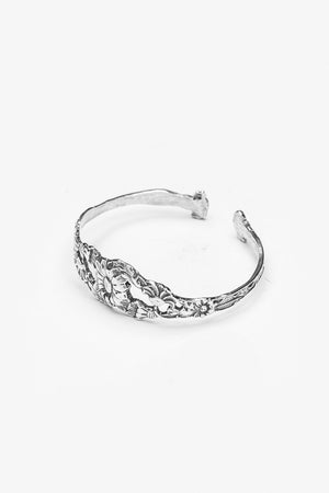 Sunflower Cuff Bracelet - Silver Spoon Jewelry