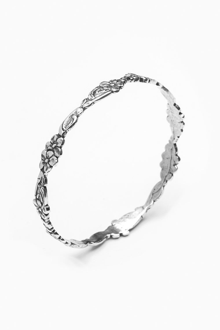 Abigail Bangle Bracelet - Silver Spoon Jewelry