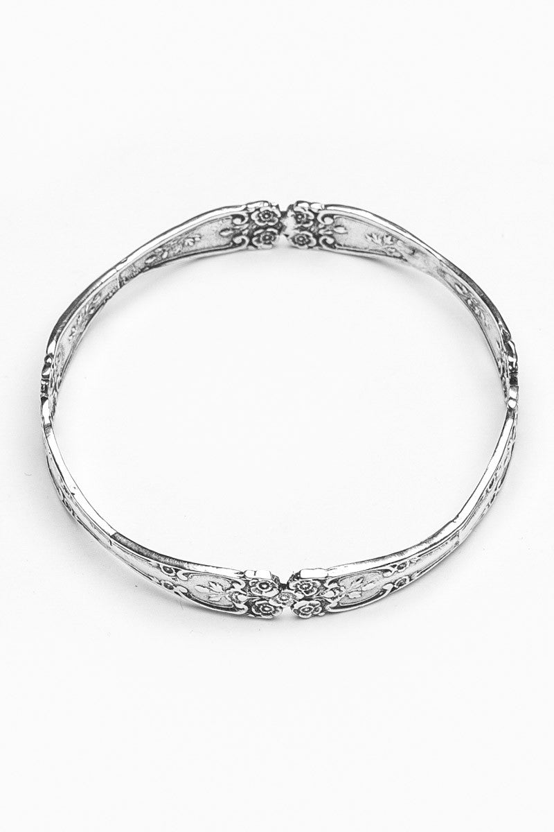 Lady Helen Bangle Bracelet - Silver Spoon Jewelry