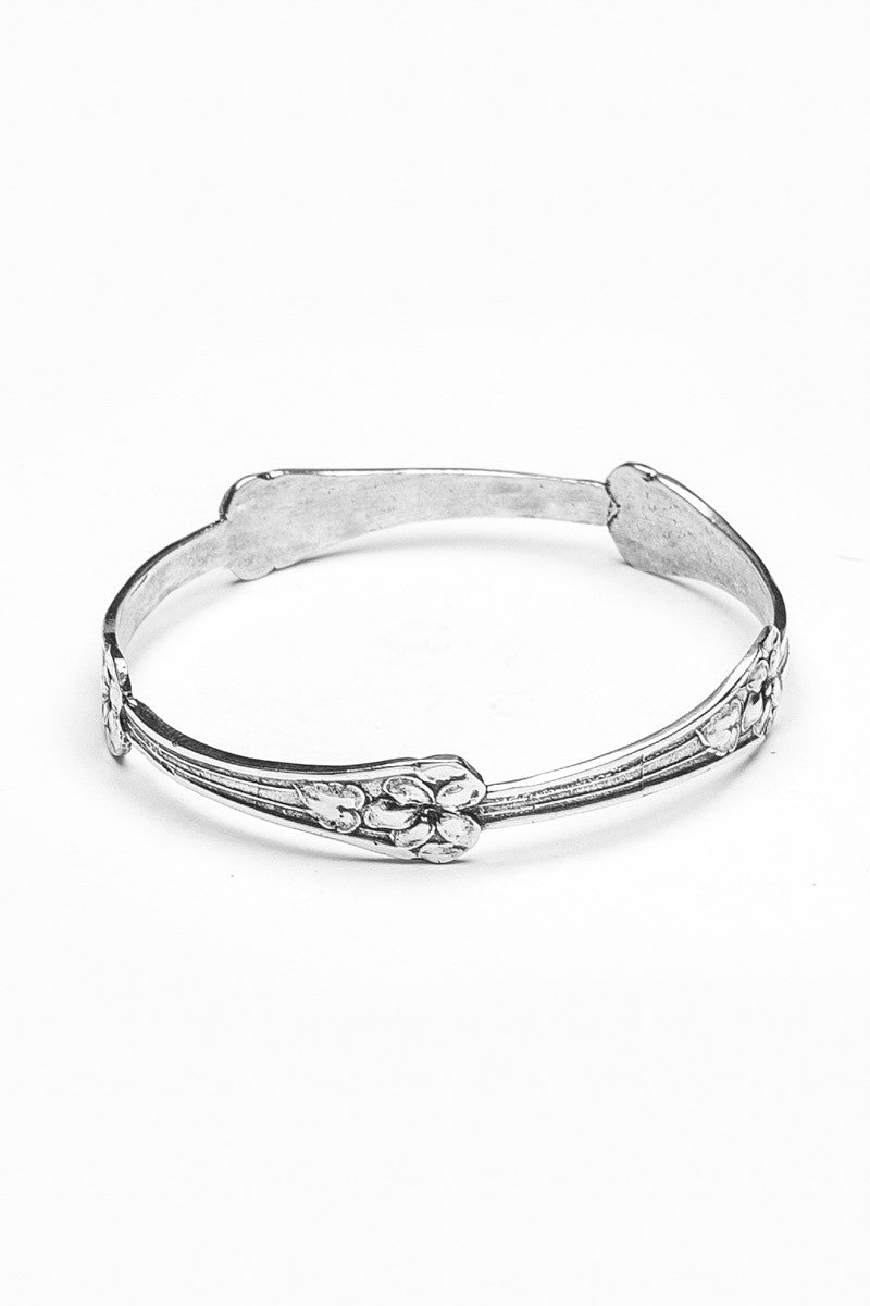Morning Glory Bangle Bracelet