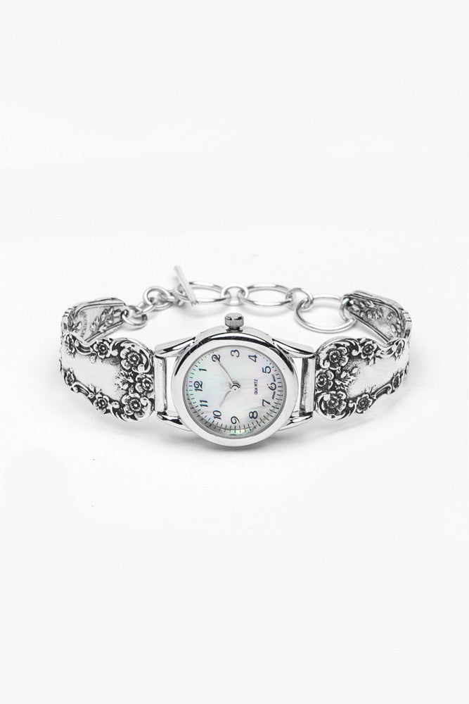 Lady Helen Spoon Watch - Silver Spoon Jewelry