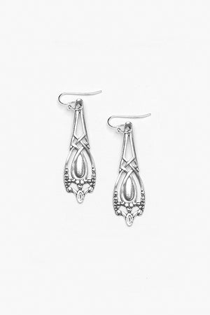 Marquis Drop Earrings - Silver Spoon Jewelry