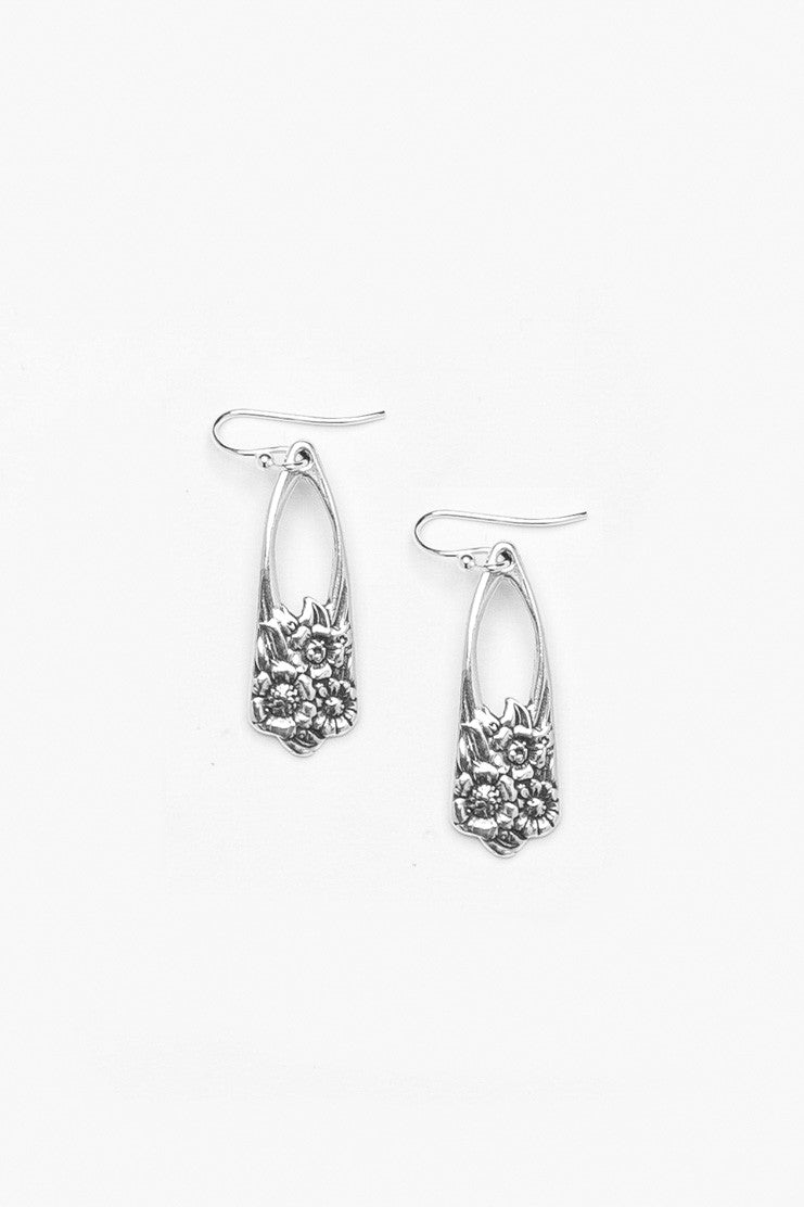 June Drop Earrings - Silver Spoon Jewelry