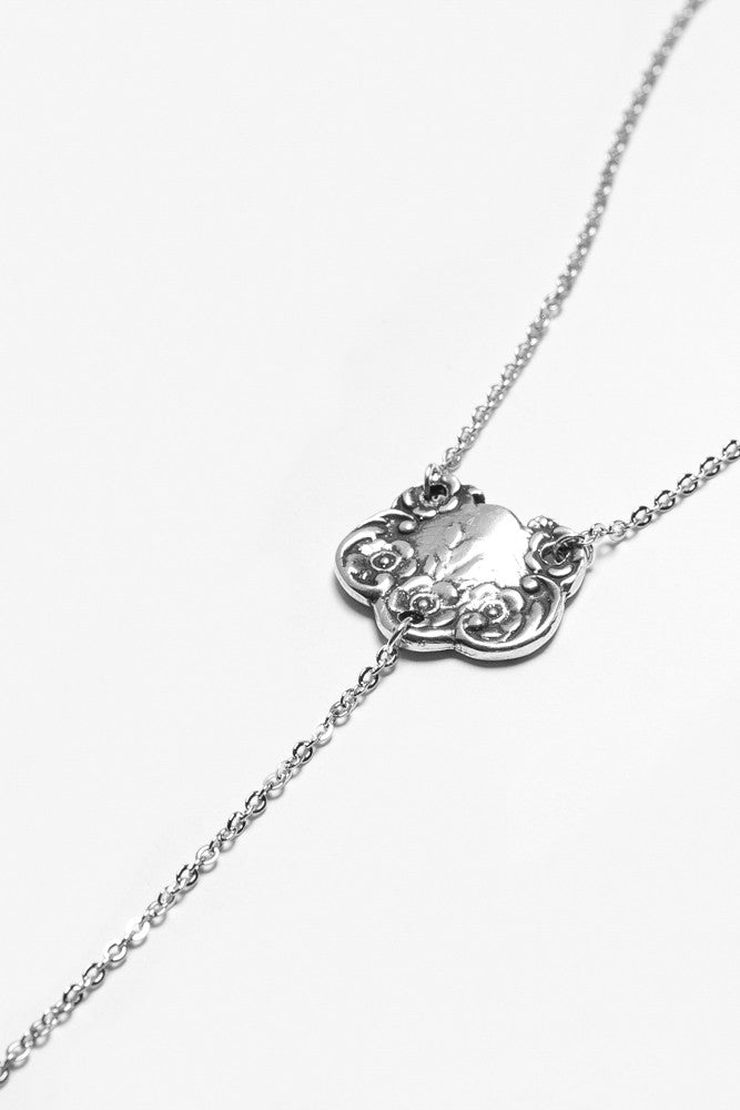 "Lady Helen ""Y"" Necklace - Silver Spoon Jewelry"