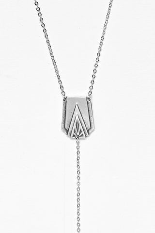 "Art Deco ""Y"" Necklace"