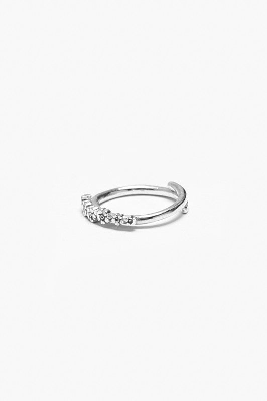 Flora Sterling Ring - Silver Spoon Jewelry