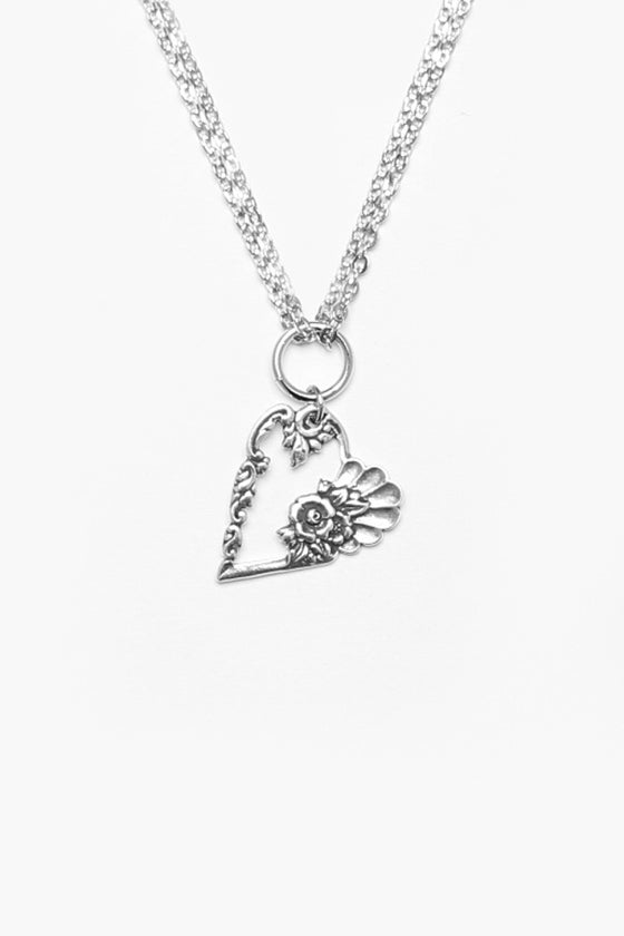 Louise Heart Pendant Necklace