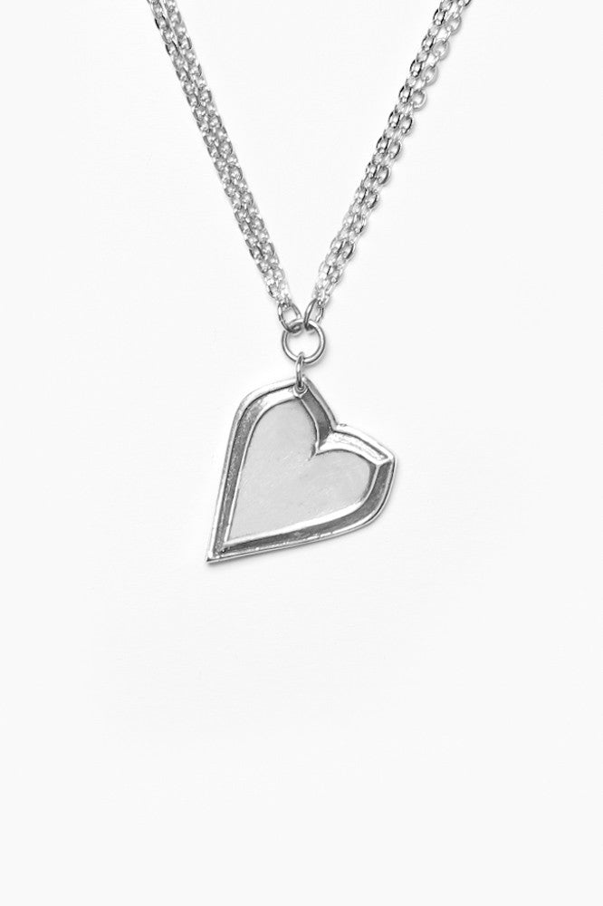 Jane Heart Necklace