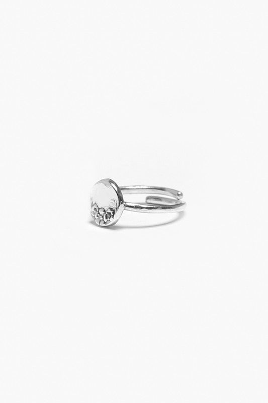 Circle Sterling Ring - Silver Spoon Jewelry
